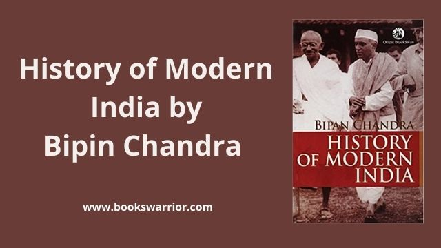 History of modern india bipin chandra pdf
