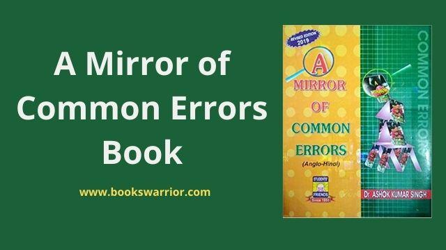 a mirror of common errors book pdf