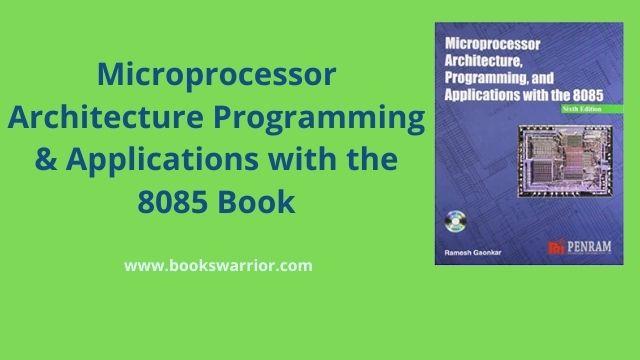 ramesh gaonkar microprocessor 8085 pdf