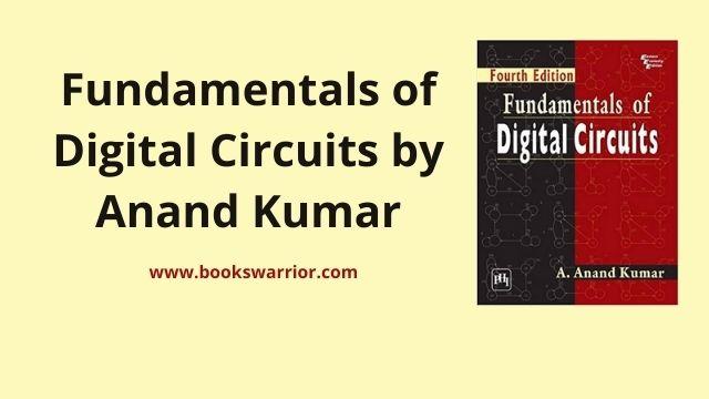 fundamentals of digital circuits by anand kumar pdf