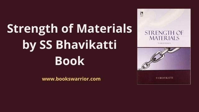 ss bhavikatti strength of materials pdf