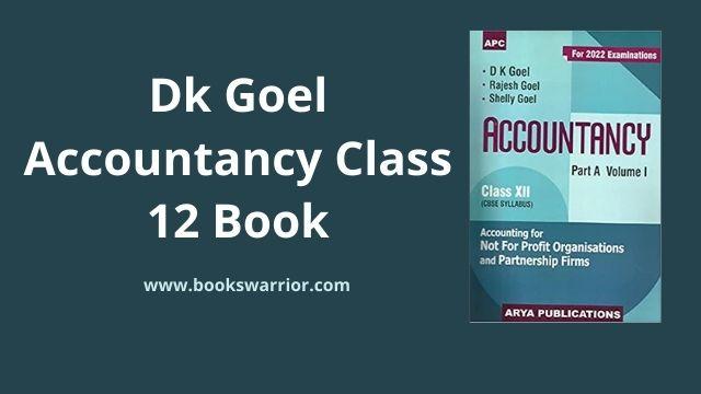 dk goel accountancy class 12 book pdf download