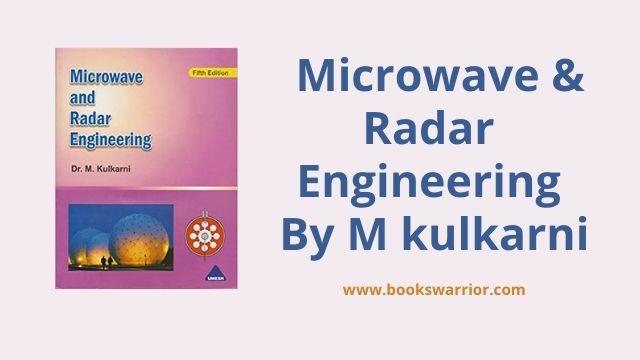 m kulkarni microwave and radar engineering pdf